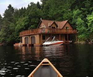 house, boat, and home image