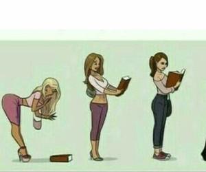 book, evolution, and girl image