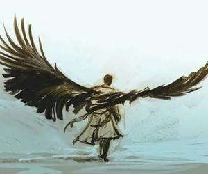 supernatural, castiel, and art image