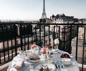 paris, city, and breakfast image