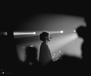 black and white, exo, and 2017 image