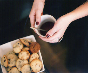 Cookies, coffee, and food image