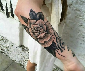 tatto and rose tatto image