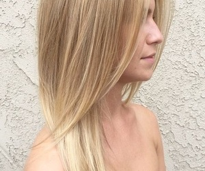 beautiful hair, blond, and blond hair image