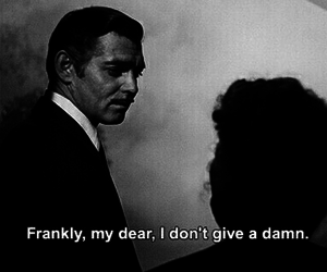 Gone with the Wind, quote, and movie image