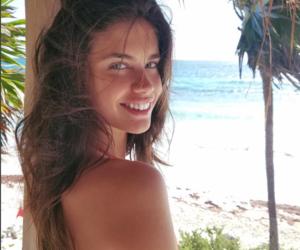 beach, blue eyes, and celebrity image