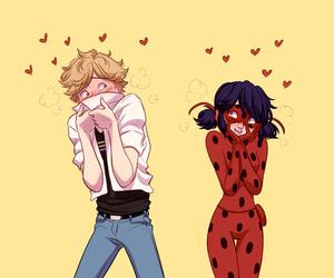 ladybug, ladrien, and miraculous image