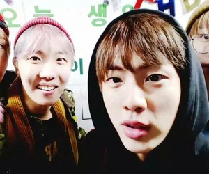 asian, jin, and bts image