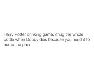 harry potter, dobby, and hogwarts image