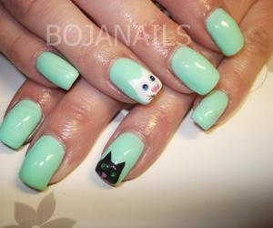 :3, nail art, and rhinestone image