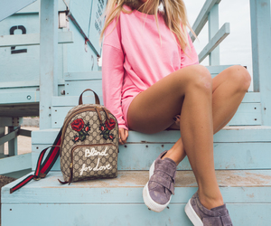 girl, janni deler, and look image