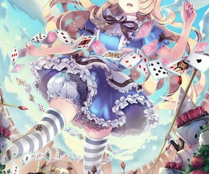 alice, love, and alice in wonderland image