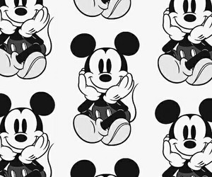 background, mickey mouse, and wallpaper image