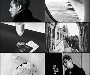 aesthetic, exo, and kris image