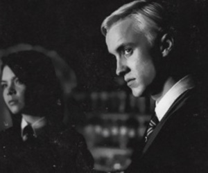 draco malfoy, gif, and harry potter image