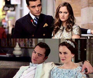 love, blair waldorf, and chair image