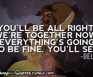 belle, quote, and beast image