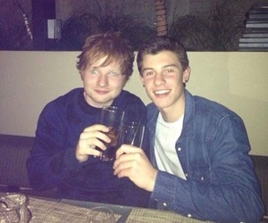 ed sheeran and shawn mendes image
