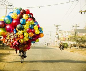 balloons and bike image
