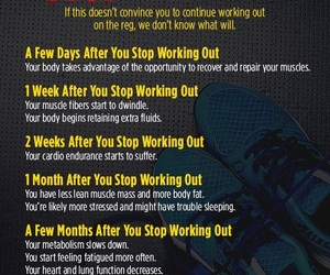 exercise, working out, and don't stop image