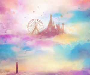 Dream, lovely, and sky image