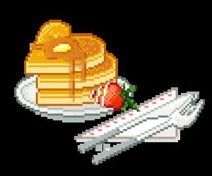 food, pixel, and kawaii image