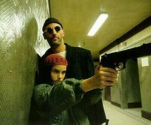 leon, film, and grunge image