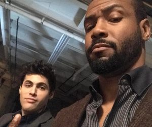 cast, shadowhunters, and matthew daddario image