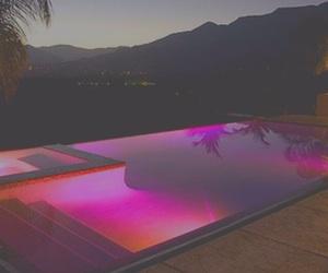 pool, pink, and luxury image