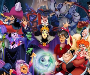 disney, Halloween, and villains image