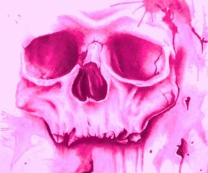 drawing, painting, and pink image