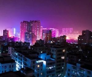 aesthetic, moodboard, and purple image