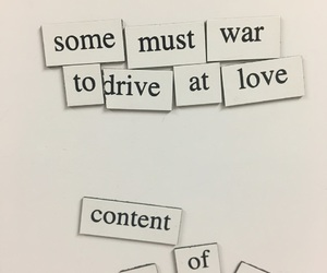aesthetic, quotes, and war image