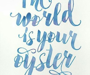 enjoy, oyster, and world image