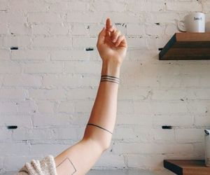 tattoo, arm, and indie image