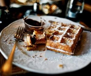waffle and food image