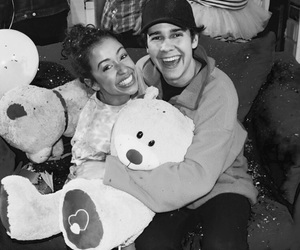 couple, liza koshy, and david dobrik image