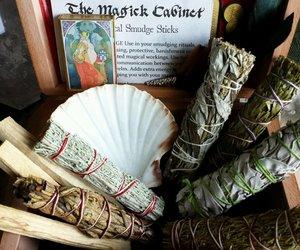 gift set, incense, and white sage image