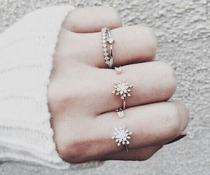 accessories, beautiful, and ring image