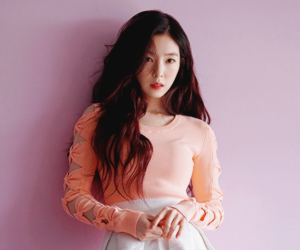 beautiful, girl, and red velvet image