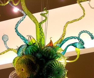 art glass, Dale Chihuly, and sculpture image