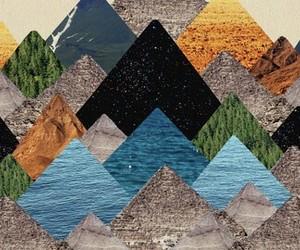 art and pyramid image