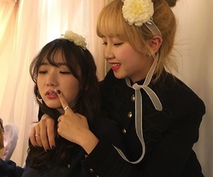 ulzzang, best friends, and korean image