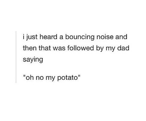 funny, humor, and potato image