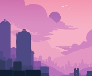 aesthetic, pixel, and pretty image