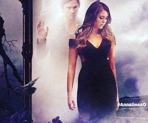 the vampire diaries, tvd, and delena image