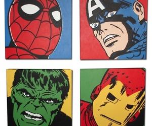 spiderman, captain america, and Hulk image