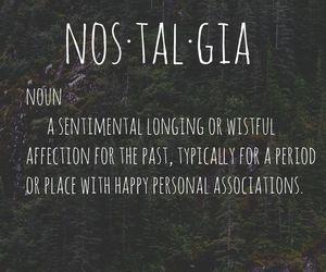 definitions, nostalgia, and retro image