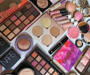 anastasia, mac, and makeup image