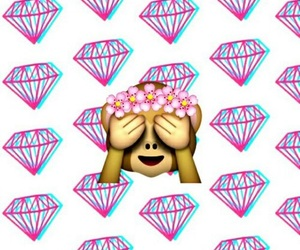 flower, pink, and deamond image